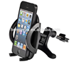 2016 one-touch quick release button adjustable 360 degree phone car mount bracket for iPhone 6s Plus 6s 5s 5c