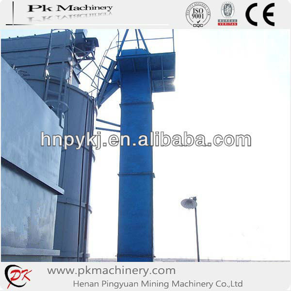 Hopper lifting price cement bucket elevator machine for cement