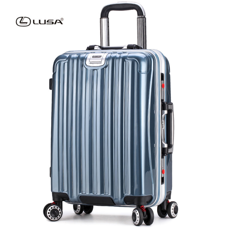 New design PC hardside aluminium frame luggage