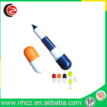 Colorful Mini Pill Shape Promotional Ball Pen
