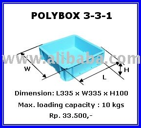 Poly Box / Box Container 331