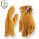 Cheap price Cowhide leather driver safety working gloves