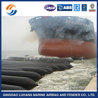 Long warranty period inflatable rubber marine airbag