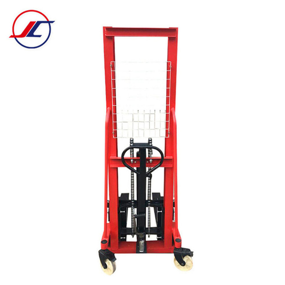 Mini carrello elevatore a mano carrelli elevatori 1 ton transpallet stacker