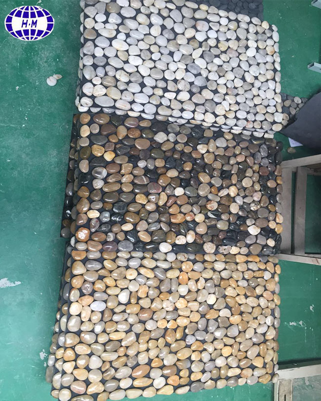 China Nature Outdoor Pebble Stone Epoxy Flooring