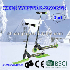 Hot Selling Sled Slide Snow Scooter for Kids Winter Toys