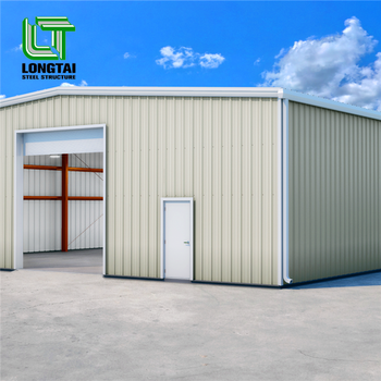steel frame large span metal house