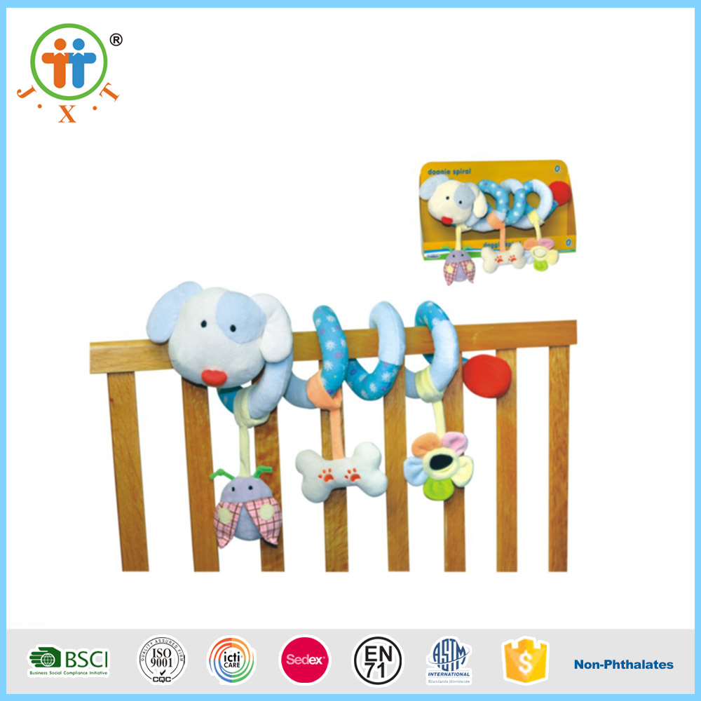 Most sold funny creative bed hanging baby plush toys with best price
