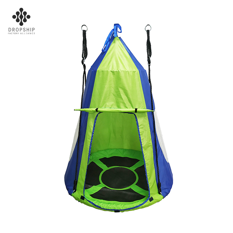 Dropship Children outdoor Fabric hanging tent swing tent