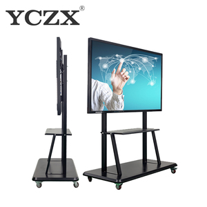 60 Inch LCD Touch screen smart board 10 points touch interactive whiteboard all in one pc monitor