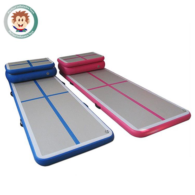 inflatable air tumble track trampoline air floor tumbling mat inflatable gymnastics equipment. Black Bedroom Furniture Sets. Home Design Ideas