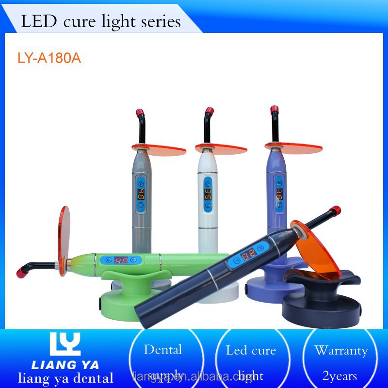Newest model dental & orthodontic instruments LED curing light light cure dental china wholesale