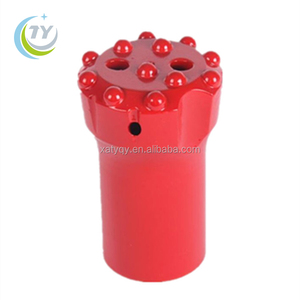 T38 64mm thread button bit for hydraulic bench