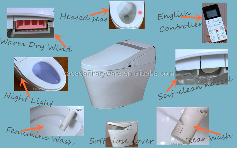 Automatic Self Closing Toilet Seat SELF CLOSING TOILET SEAT BY