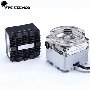 12v brushless water pump water-cooled mute pump support RGB AURA. PU-GCDCB