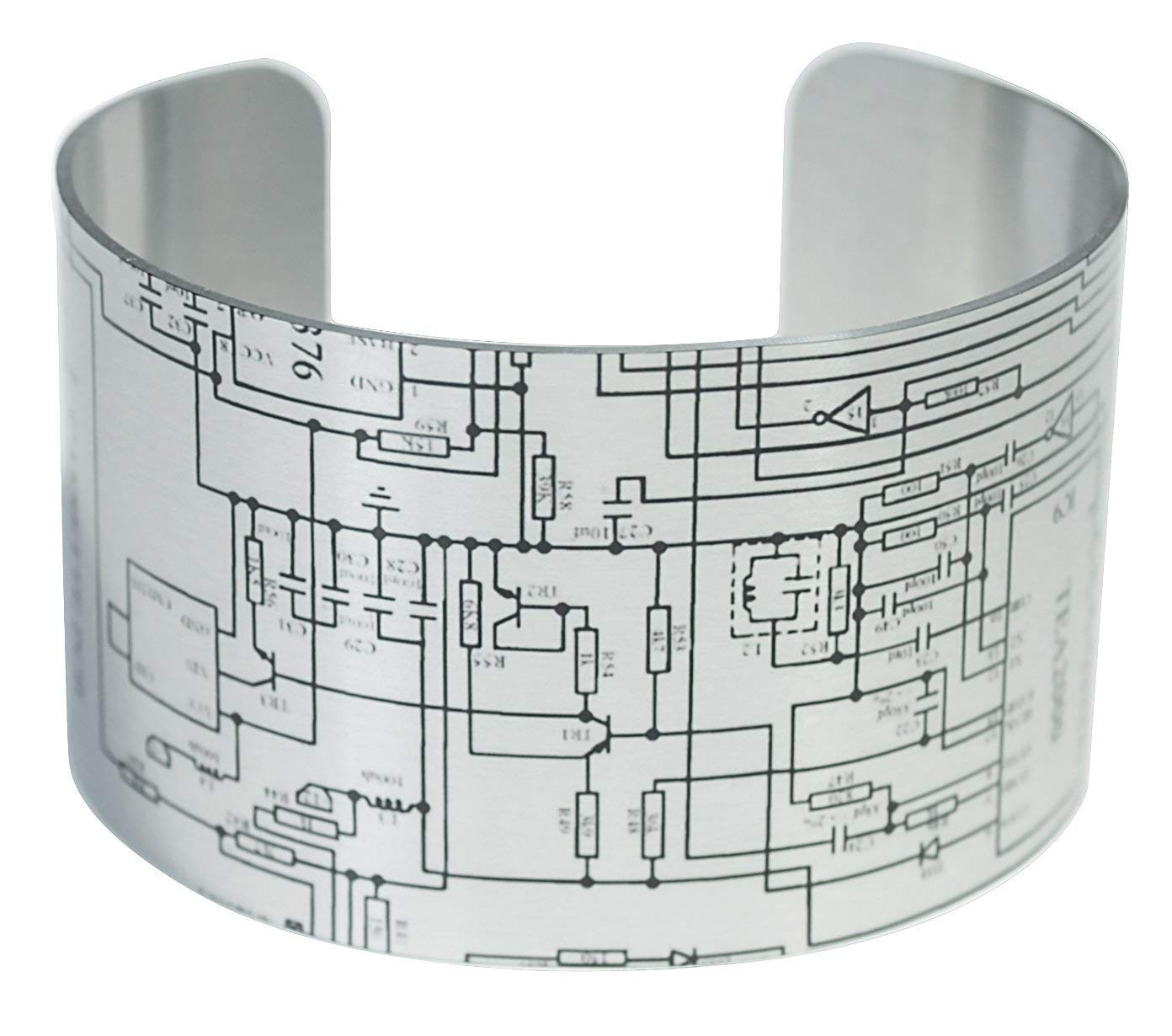 Cheap Remote Circuit Diagram Find Deals On Get Quotations Wide Aluminum Cuff Bracelet