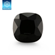 Nice artificial gemstone cushion shape black cubic zirconia