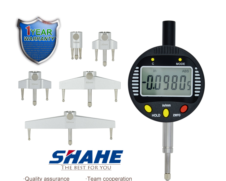 Measuring Amp Gauging Tools : Protable digital radius gauge measuring gauging tools