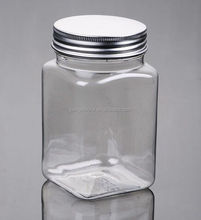 500 g jar food storage glass mason jar with aluminum screw top lid plastic container for sale