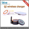 Wireless charger for furniture desk with USB Port & USB Cable +Wireless receiver for IOS and android mobile phone accessories