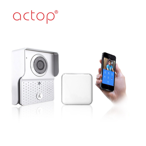 ACTOP Manufacturer Smart Home Automation Intercom System Internet Doorbell Video Wifi