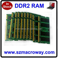 Original made in china sodimm ram 2x1GB pc2700 ddr laptop memory 2gb