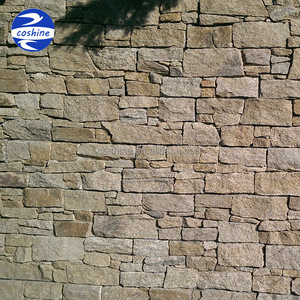 Cement back granite stone panels, exterior ledge stone wall cladding tile