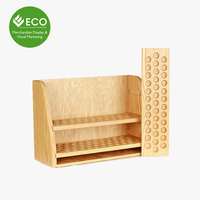 Low Price Custom Design Essential Oil Wood Display Stand