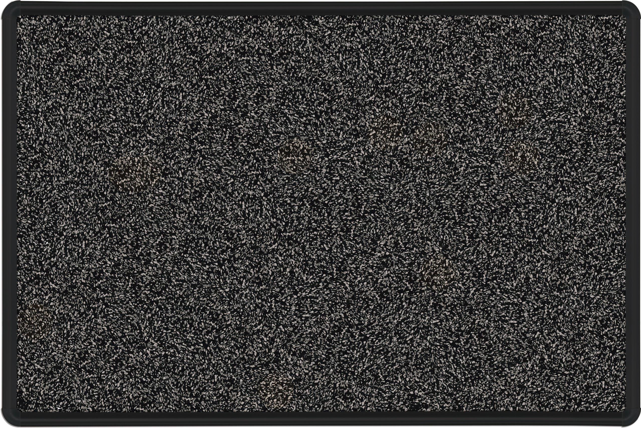 Best-Rite Presidential Trim Rubber-Tak Tackboard, Black Trim, 4 x 8 Feet, Black (321PH-T1-96)