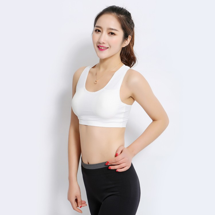 Eco-Friendly Breathable Cotton Bra for Young Girls hot girl sexy push up bra