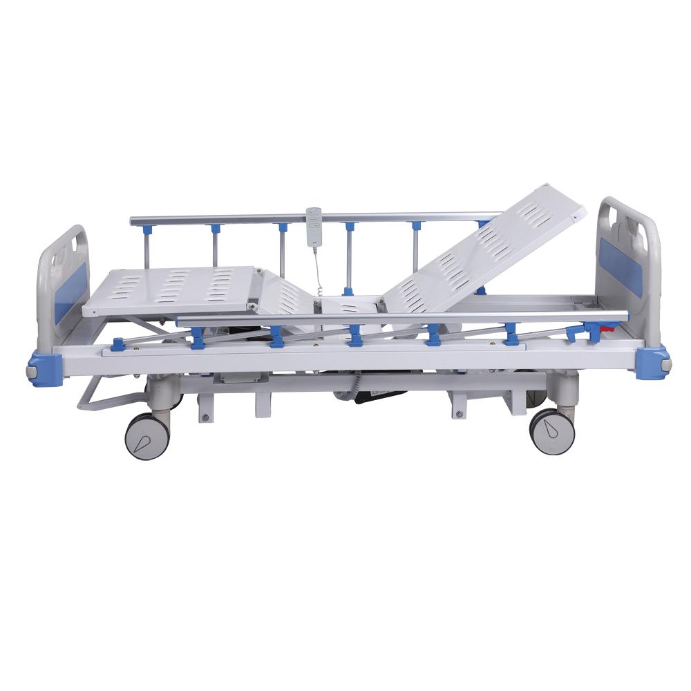 Больница 3 функции Электрический Уход Кровать Медицинская Кровать дистанционное управление
