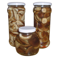 Farm Canned Shiitake Mushroom in Brine