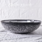 factory cheap price round shape 12 inch super big china ceramic stoneware bowl plate from chaozhou