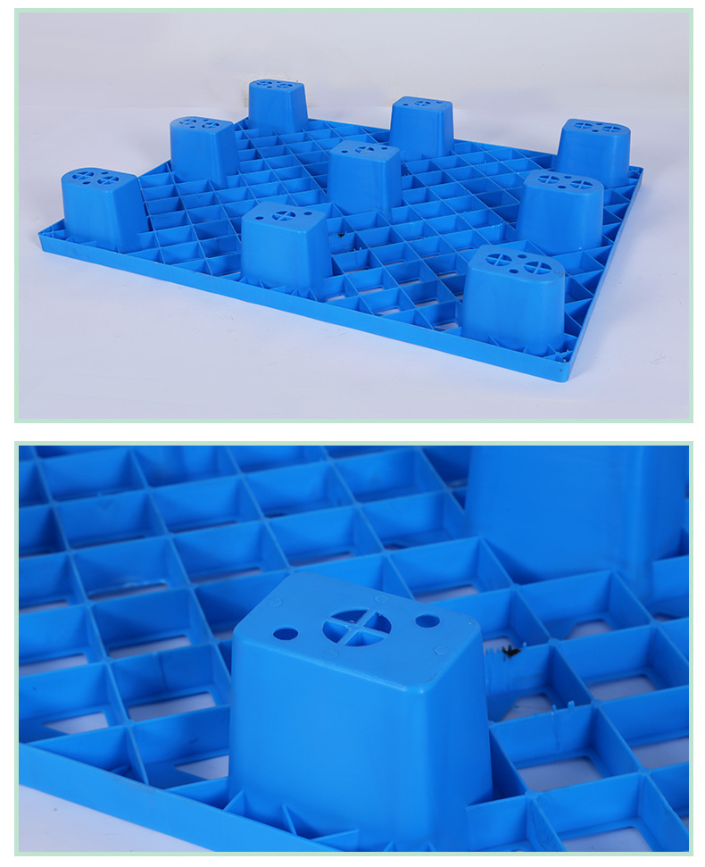 DY-19-01 Good Quality Ground Stackable Heavy Duty small plastic euro pallet 1200*1000*150mm