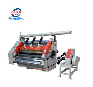 Advanced techology single facer carton box corrugated making cardboard machine with ce