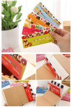 Details about  120 Page Cartoon Pattern Sticker Bookmark Memo Index Tab Sticky Notes cute