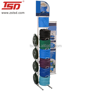 bag handbag shop fitting metal displays stand rack