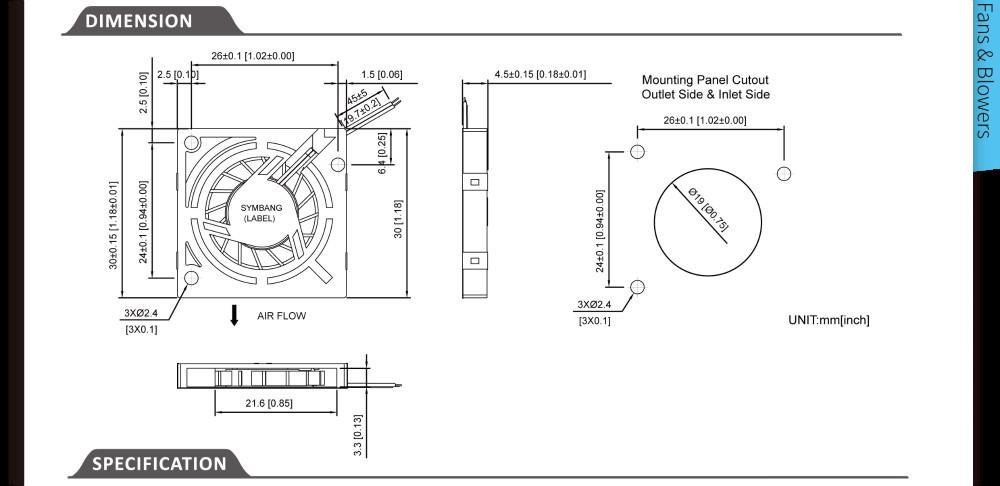 Db3004 3v 5v 30mm Mini Blower Fan Buy Mini Blower Fan 3v
