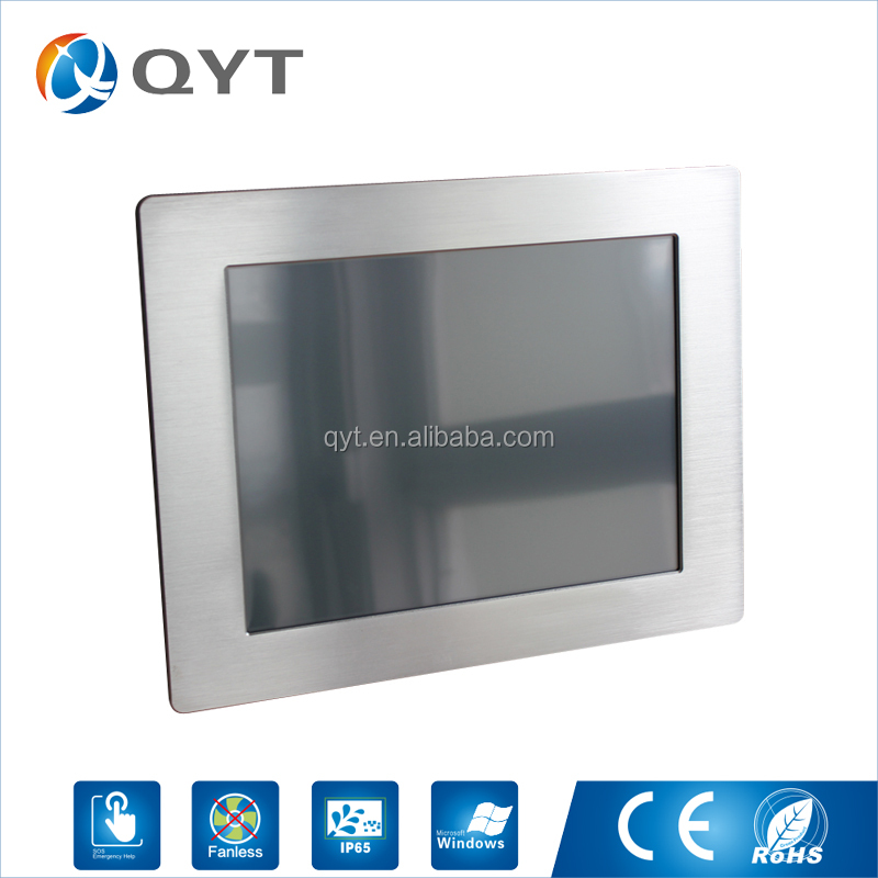 "price list of 12"" 32G SSD touch screen lcd display"