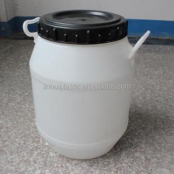 25liter Round Liquid Solid Particles Storage Container Plastic