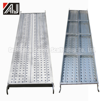 strong steel structures catwalk for scaffolding system