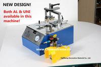 High quality TS-J21 203 underpinner/alfamacchine & universal picture frame machine /desk-top V-Nailer