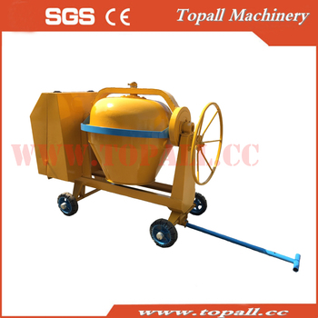 Topall Construction Industrial 350LLombardini Low Profile Cement Concrete Mortar Mixer