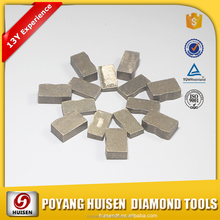 Professional China supplier great diamond segment for power tools for cutting granite marble and tiles