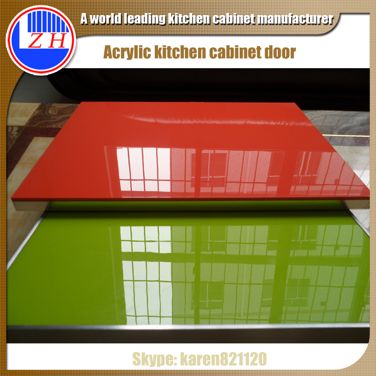 Dubai Project High Gloss Acrylic Kitchen Cabinets Door