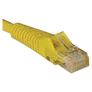 "Tripp Lite, Cat5e Cat5 Snagless Molded Patch Cable Rj45 M/M Patch Cable Rj-45 (M) Rj-45 (M) 7 Ft Utp Cat 5E Molded, Stranded, Snagless Yellow ""Product Category: Supplies & Accessories/Network Cables"""