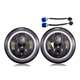 7 inch LED Round Headlight H4 H13 DRL Hi Lo Lamp For Jeep Wrangler Hummer Harley