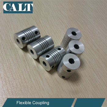 Calt 19mm Outer Dia 30mm Length 8mm / 10mm Bore Flexible Coupling Shaft  Coupler - Buy Coupling,3d Printer Coupling,5-8mm Shaft Coupler Product on
