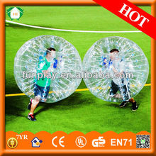 2014 Amazing top quality TPU\PVC blue bumper ball,inflatable wipeout ball,glitter paint ball