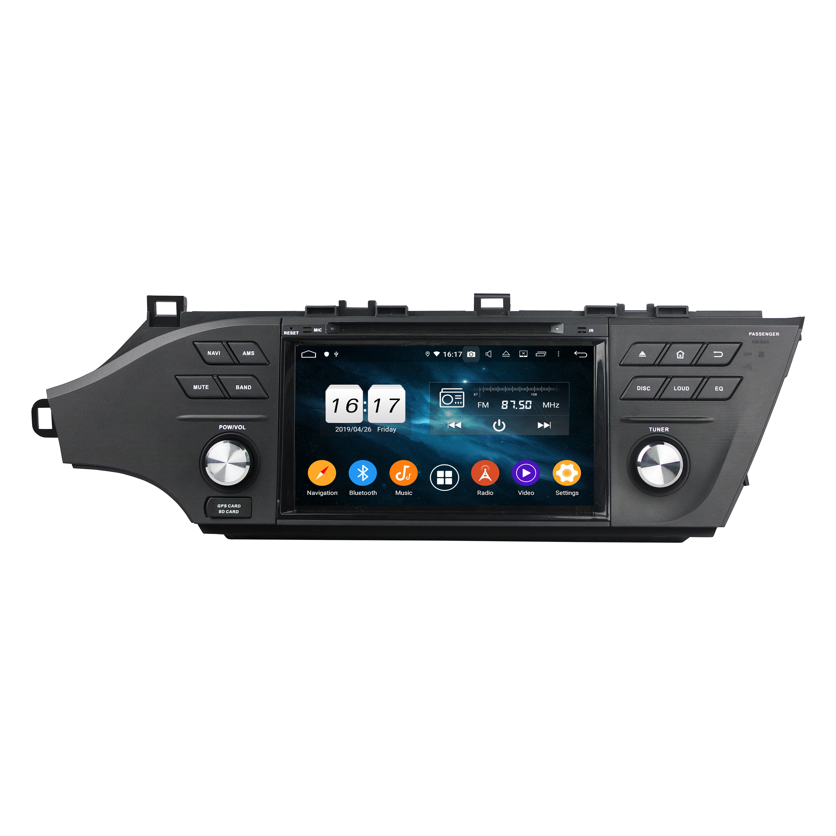 KLYDE 8-Zoll Android Auto DVD CD Video Player für Avalon 2015-2016 auto audio auto gps musik player mit auto radio audio